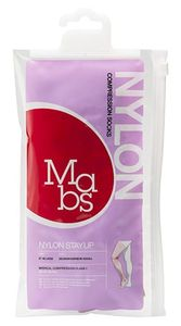 Mabs Nylon Stay Up Solbrun XL - 1 par