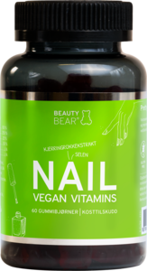 Beauty Bear Nail Vegan Vitamin 60 tyggetabletter