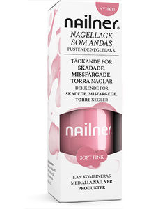 Nailner neglelakk Soft Pink 8 ml