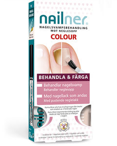 Nailner Treat & Colour - neglsoppbehandling  2 x 5 ml