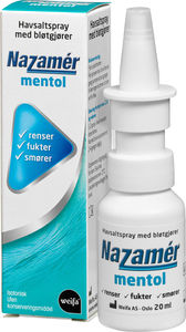 Nazamer Mentol Saltvannspray 20 ml