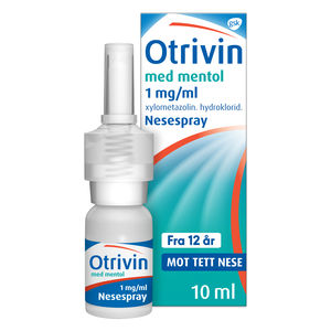 Otrivin Nesespray 1mg/ml Mentol