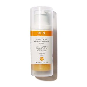 REN Glycol Lactic Radience Renewal Mask 50 ml