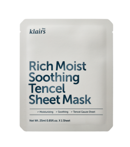 Klairs Rich Moist Soothing  Tencel Sheet Mask 1 stk