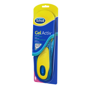 Scholl Gel Active Insoles Everyday innleggssåler for kvinner - 1 par