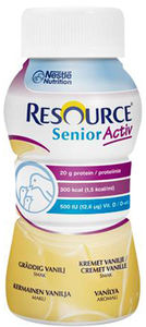 Resource Senior Active vaniljesmak 4x200 ml