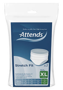 Attends Stretchfit truse XL 3 stk