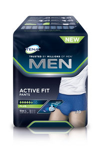 TENA Men Pants Active Fit buksebleie str. L 10 stk