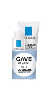 La Roche-Posay Toleriane Riche 40 ml og renselotion 50 ml