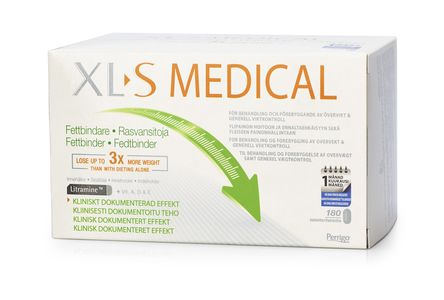 XL-S Medical Fettbinder kaps, 180 stk