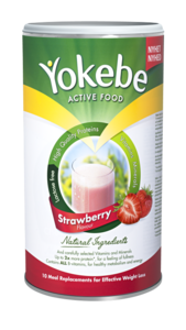Yokebe Strawberry 400 g