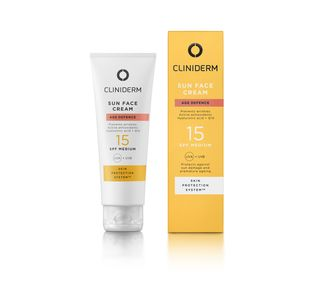 Cliniderm Sun Face Cream SPF 15, 50 ml