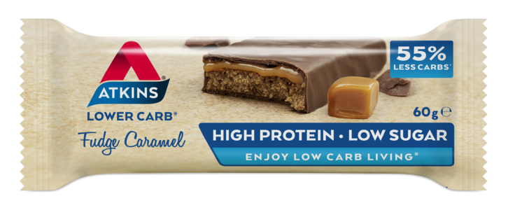 Atkins Advantage Fudge Caramel Bar 60 g