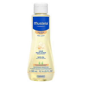 Mustela Bath Oil Dry Skin, 300 ml