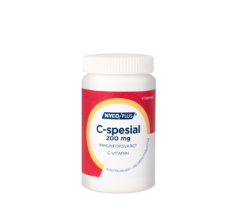 Nycoplus Vitamin C Spesial  200 mg 100 tabletter