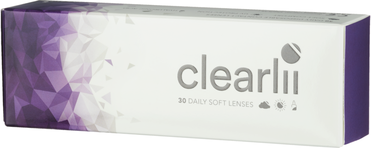 Clearlii Daily endagslinser 30 pk -3.75