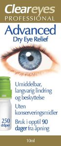 Cleareyes Professional øyedråper 10 ml