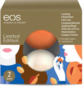 Eos Lip Balm Holiday gave 2 pk