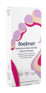 Footner Exfoliating Socks 1 par
