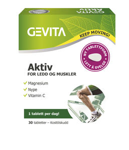 Gevita Aktiv - for ledd og muskler, 60 tabletter