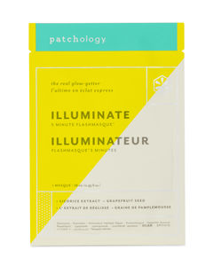 Patchology FlashMasque® Illuminate 5 Minute Sheet Mask 1 stk