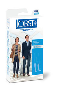 JOBST Travel Socks Kne Kl 1 sort  37/38