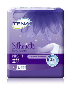 TENA Silhouette Lady Pants Night buksebleie str. L 7 stk