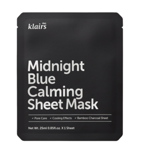 Klairs Midnight Blue Calm Sheetmask 1 stk