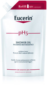 Eucerin pH5 Shower Oil Refill Parfym 400 ml