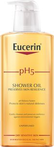 Eucerin pH5 Shower Oil uparfymert 400 ml