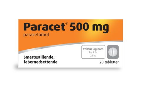 Paracet Tabletter 500 mg