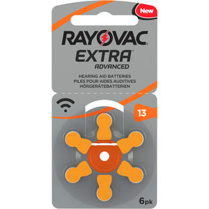 Rayovac Extra Advanced batteri for høreapparat 13