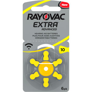 Rayovac Extra Advanced batteri for høreapparat 10