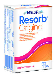 Resorb Original bringebær Brusetab