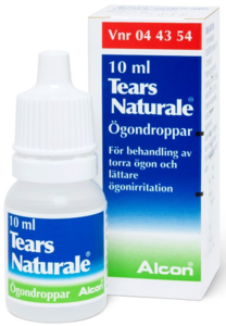 Tears Naturale Øyedr 1 mg/ml/3 mg/ml