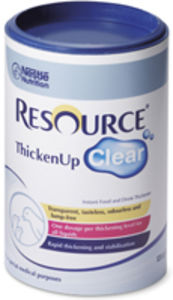Resource ThickenUp Clear Pulv 10,6 mg/g/2 mg/g