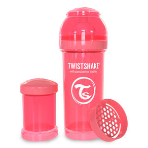 Twistshake tåteflaske Peach 260 ml