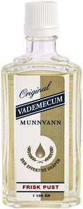 Vademecum munnvann original 75 ml