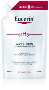 Eucerin pH5 Washlotion Refill parfymert 400 ml